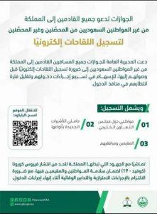 شروط السفر الجديدة إلى السعودية